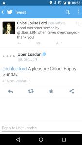 Uber taketh away