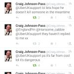 Craig Uber tweet
